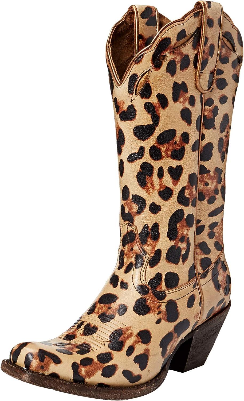ARIAT Woherrar Leopard Leopard Leopard Larue Western Boot  fantastisk kvalitet
