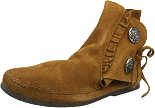 Minnetonka Two Button Boot, Mocassin Homme
