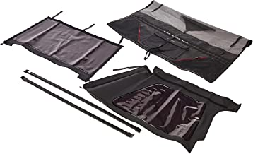 Smittybilt 9973235 Black Diamond Bowless Combo Soft Top for TJ - Top only