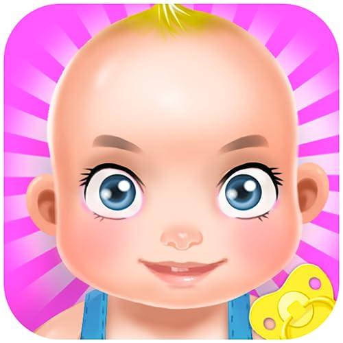 Baby-sitter du nouveau-né bébé: Nouveau-nés sont si mignons! Amusez-vous, prenez soin de notre belle petite fille!