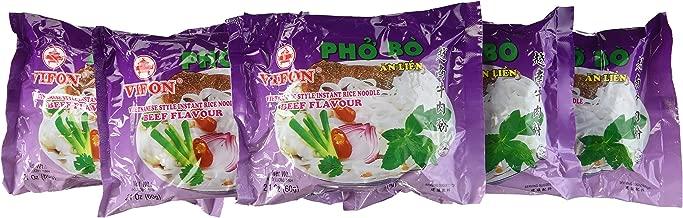 Vifon Instant Pho Noodle Soup, Beef Flavour ( Pack of 24)