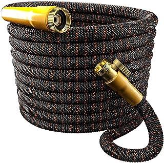 TBI Pro Garden Hose Expandable and Flexible - Super Durable 3750D Fabric | 4-Layers Flex Strong Latex | No-Rust Brass Conn...