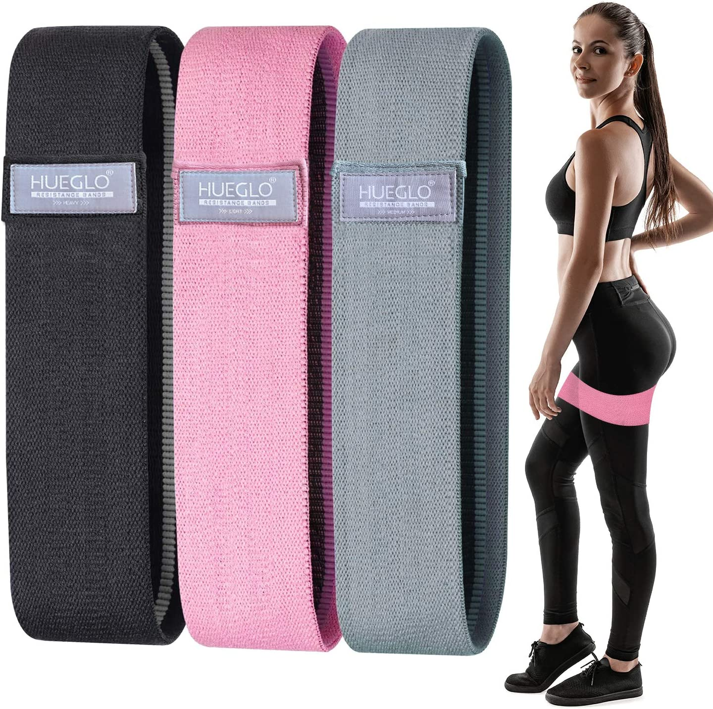 Fabric Resistance Bands Set for trend rank Legs Butt Band specialty shop Booty and Elastic