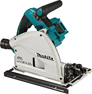 Makita DSP601ZJU (36V) Twin 18V Li-ion LXT Brushless 165mm Plunge Cut Saw Supplied in a Makpac Case - Batteries and Charge...