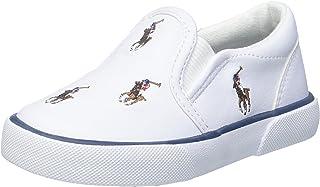 Polo Ralph Lauren Kids BAL Harbour REPEAR Multi Pony Fashion Slip On