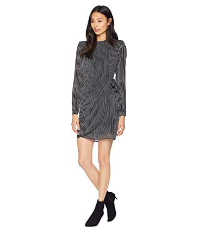 ASTR the Label Jolene Dress (Black/White Stripe) Women