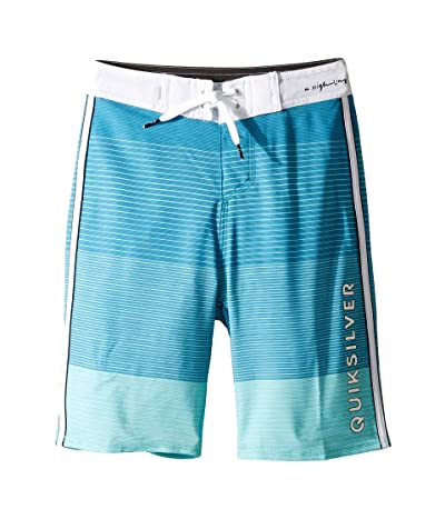 Quiksilver Kids Highline Massive 18 Boardshorts (Big Kids) (Aqua Splash) Boy