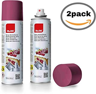 IBILI 746300 2 x Pack Spray DESMOLDEANTE Antiadherente 250
