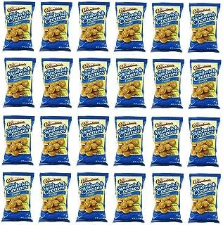 Grandmas Mini Vanilla Crème Cookies Peg Bag - 3.71 Oz. Bag - 24 Ct. T. - Tj
