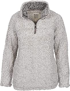Women's Frosty Tipped Pile 1/4 Zip Stadium Pullover