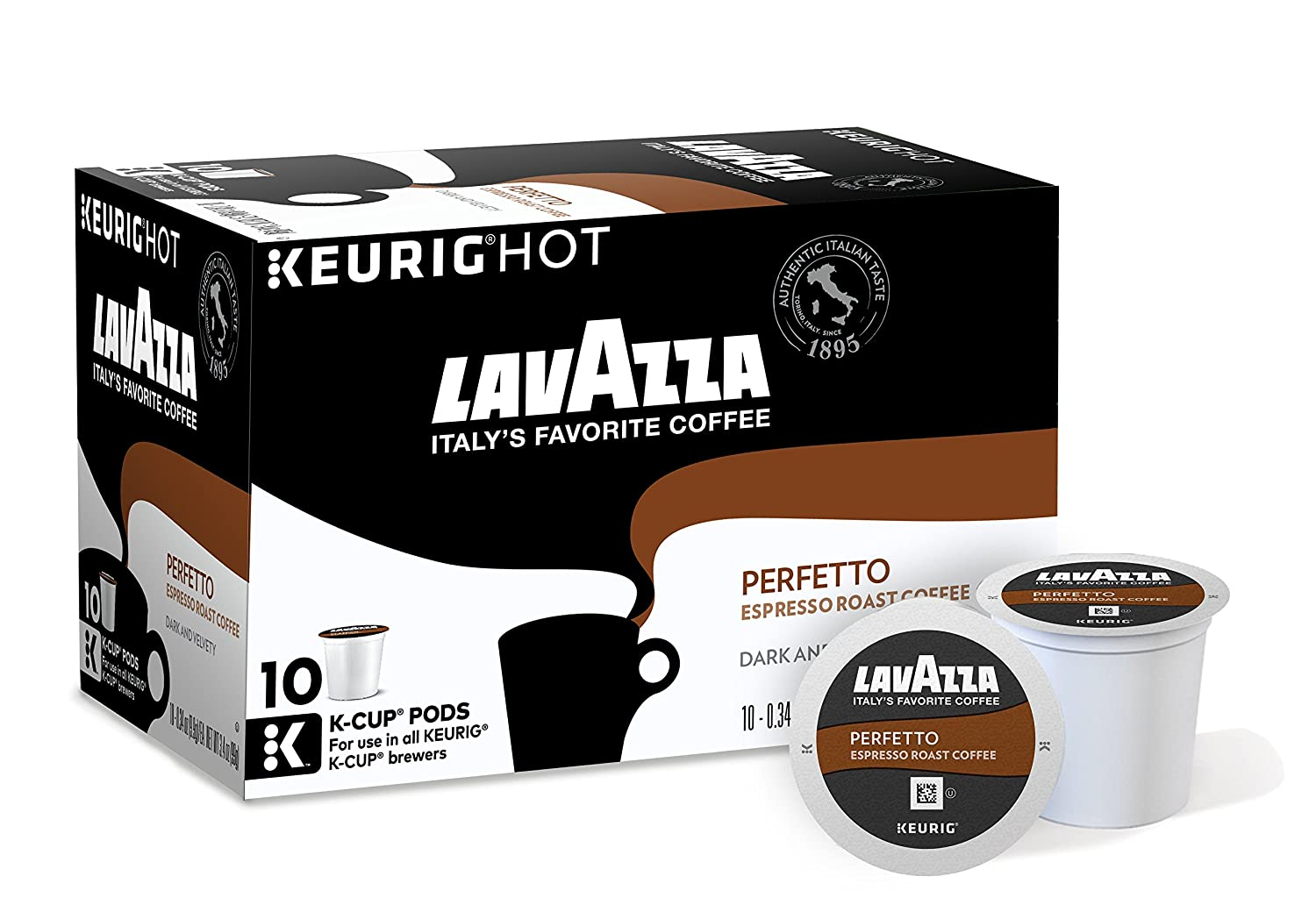 Amazon Com Lavazza Perfetto Coffee Keurig K Cups 10 Count Pack Of 6 Grocery Gourmet Food