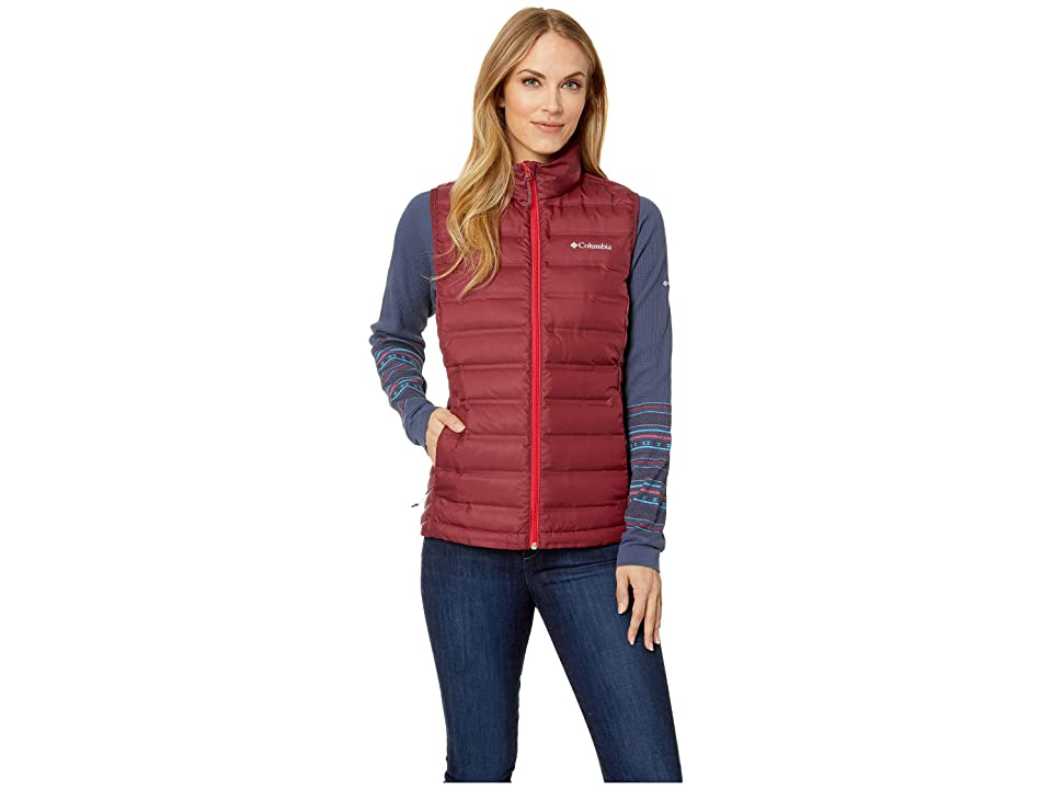 Columbia Lake 22 Vest (Rich Wine/Red Mercury) Women