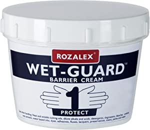 Rozalex Wet-Guard  Barrier Cream 450ml Tub Hand Care Protection