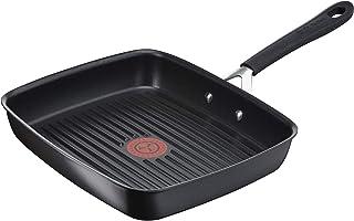 Tefal Poêle grill rectangulaire Jamie Oliver E21741 - En fonte d'aluminium - Tous types de feux dont induction - Indicateu...