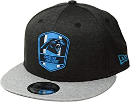 9Fifty Official Sideline Away Snapback - Carolina Panthers