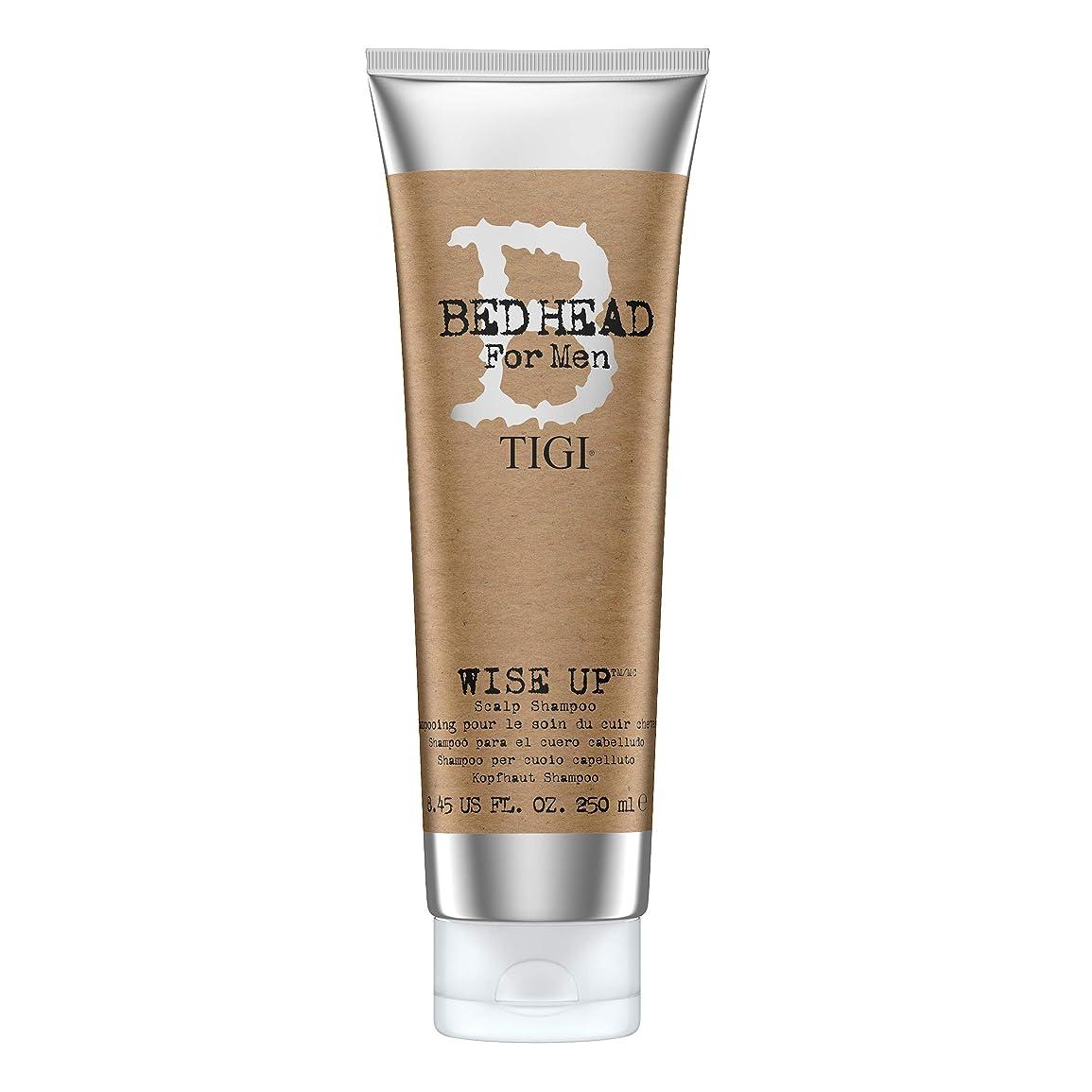 シンプルさ夫婦サイクロプスティジー Bed Head B For Men Wise Up Scalp Shampoo 250ml