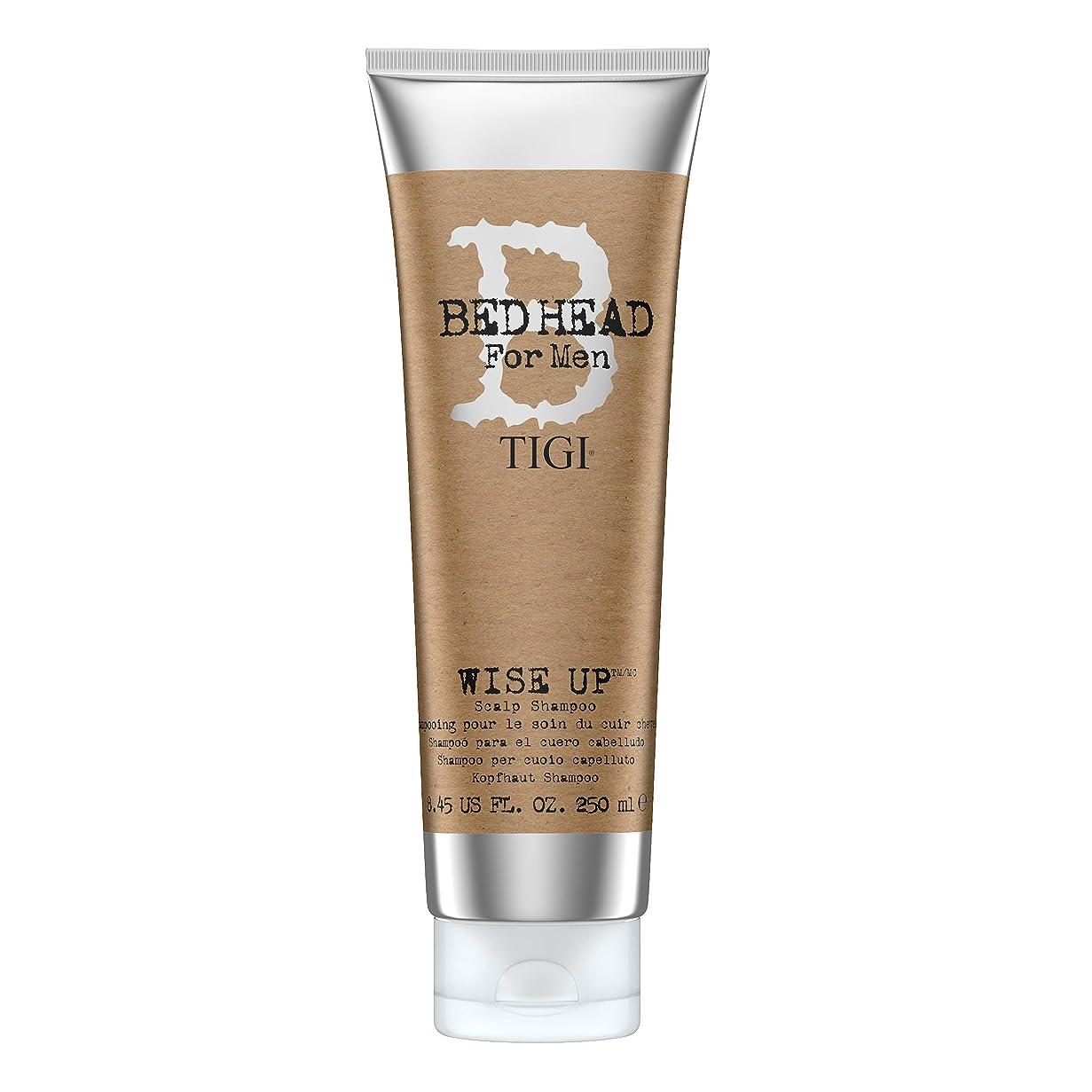 滝クリーク同化ティジー Bed Head B For Men Wise Up Scalp Shampoo 250ml
