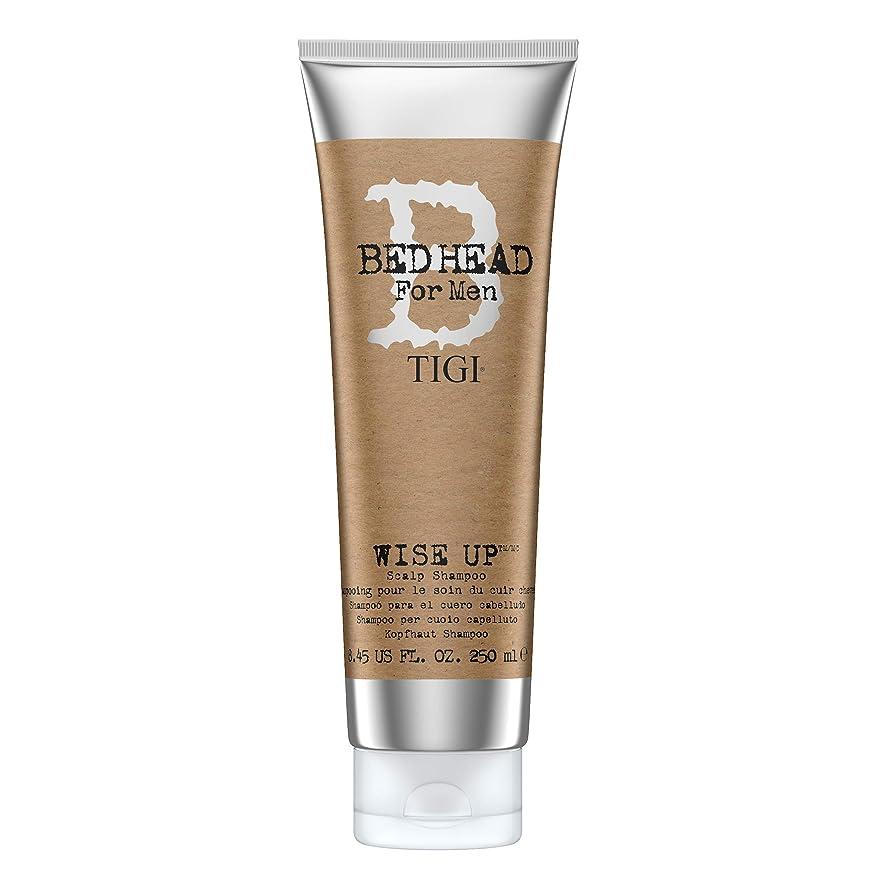 小石流出注文ティジー Bed Head B For Men Wise Up Scalp Shampoo 250ml
