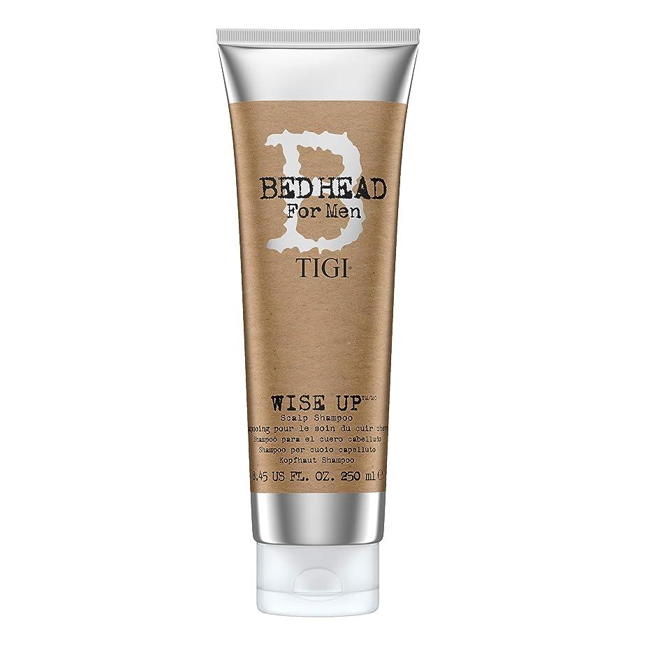 一般化するサイトライン未亡人ティジー Bed Head B For Men Wise Up Scalp Shampoo 250ml