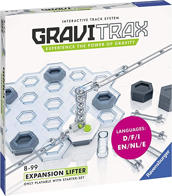 Ravensburger Gravitrax Lifter Expansion Set Marble Run & STEM Toy for Boys & Girls Age 8 & Up - Expansion for 2019 Toy of The Year Finalist Gravitrax