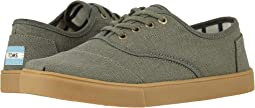 Dusty Olive Heritage Canvas Cupsole
