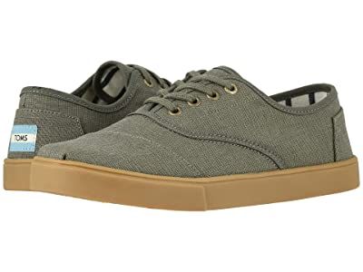 TOMS Cordones Cupsole (Dusty Olive Heritage Canvas Cupsole) Men