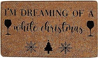 Christmas Festival Decoration Front Door Carpet, Fall Gnome Welcome Doormat Christmas Decorative Doormat Autumn Line Non S...