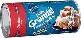 Pillsbury Flaky Grands!, Original Cinnamon Rolls wih Cinnabon Cinnamon, 5 Rolls, 17 oz. Can