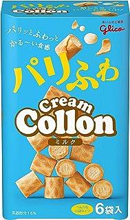 江崎グリコ クリームコロン(あっさりミルク) 6袋 ×10個