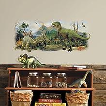 RoomMates Dinosaurus Scene Muursticker, meerkleurig