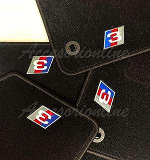 Juego de 20 Alfombrillas para BMW E36 E46 con Arandelas rryilong
