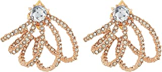 alexis bittar rose gold earrings