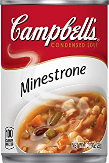 Campbell'sCondensed Minestrone Soup, 10.5 oz. Can (Pack of 12)