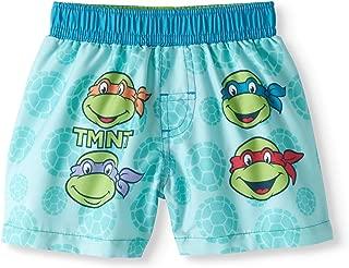 Dreamweave Baby Boys Teenage Mutant Ninja Turtles Swim Trunks,Blue,24 Months