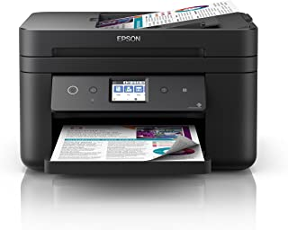 Epson WorkForce WF-2861 Wi-Fi Duplex All-in-One Inkjet Printer,Black