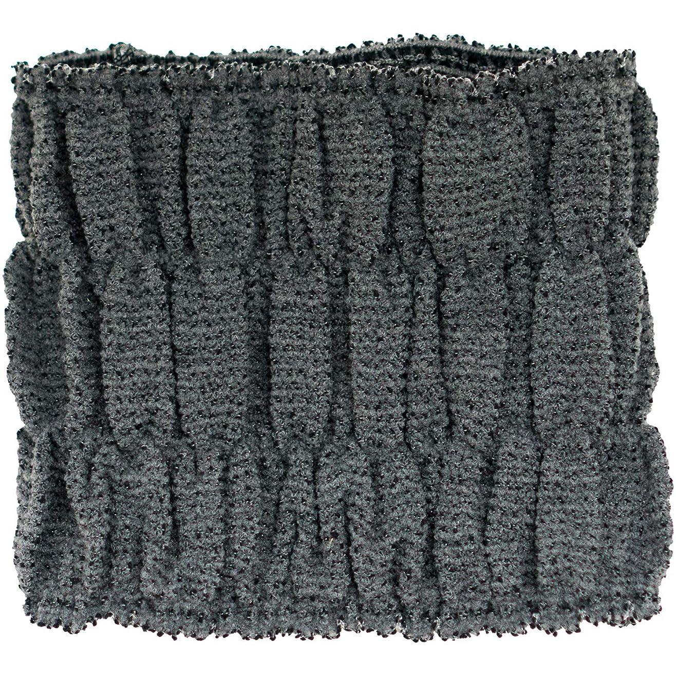 親与える高さオカ(OKA) ヘアドライタオル ブラック 約15cm×16cm カラートリートメント用バスヘアターバン