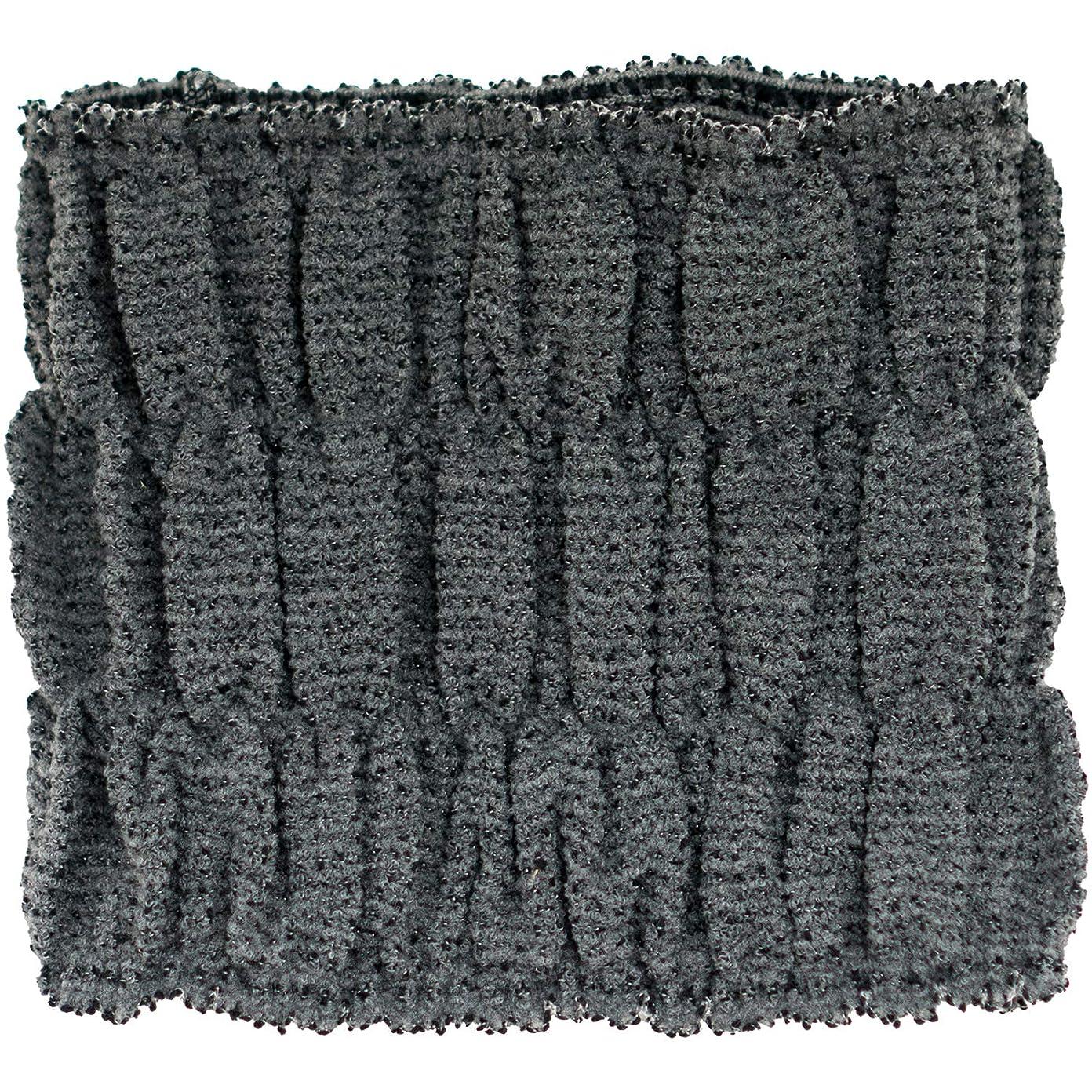 事故信頼できる十分ではないオカ(OKA) ヘアドライタオル ブラック 約15cm×16cm カラートリートメント用バスヘアターバン