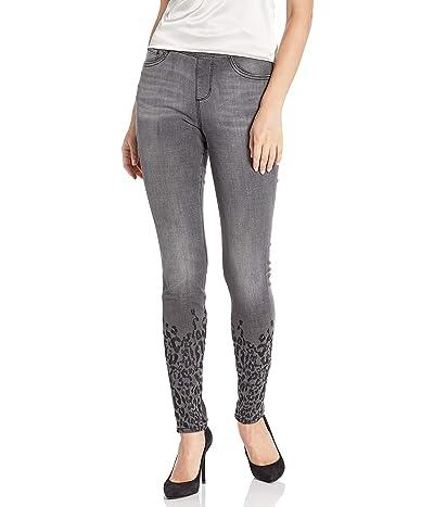 Jag Jeans Maya Skinny Pull on Jean W/Leopard Embroidery