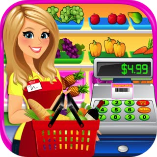 Supermarket Grocery Store Girl 2 - Kids Cash Register & Grocery Store Simulator Games FREE