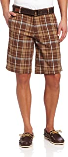 U.S. Polo Assn. Men's Yarn Dyed Flat-Front Short
