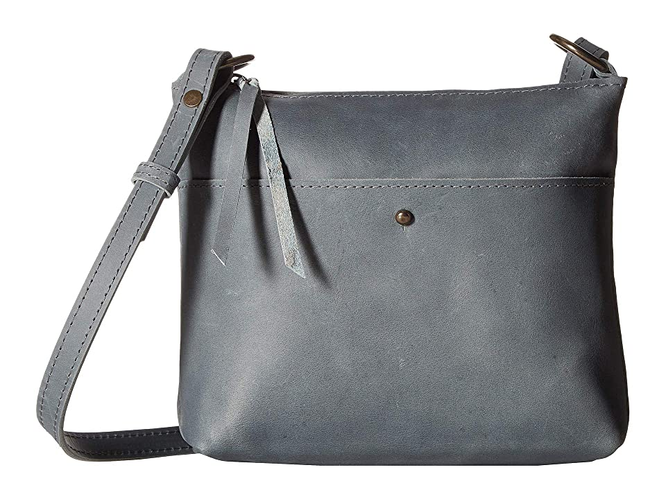 ABLE Emnet Mini Crossbody (Denim Blue) Handbags