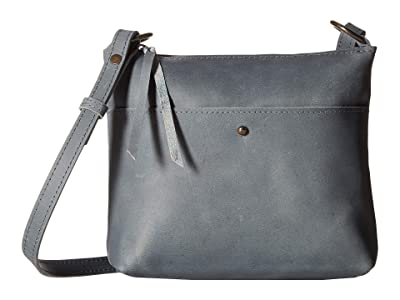 ABLE Emnet Mini Crossbody (Denim Blue) Handbags