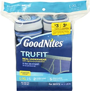 Goodnites Durable Underwear Starter Kit Large/X-Large Boy, 7-Count