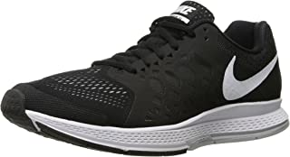 Mens NIKE AIR ZOOM PEGASUS 31 RUNNING SNEAKERS BLACK WHITE 652925 010 Size 6 US