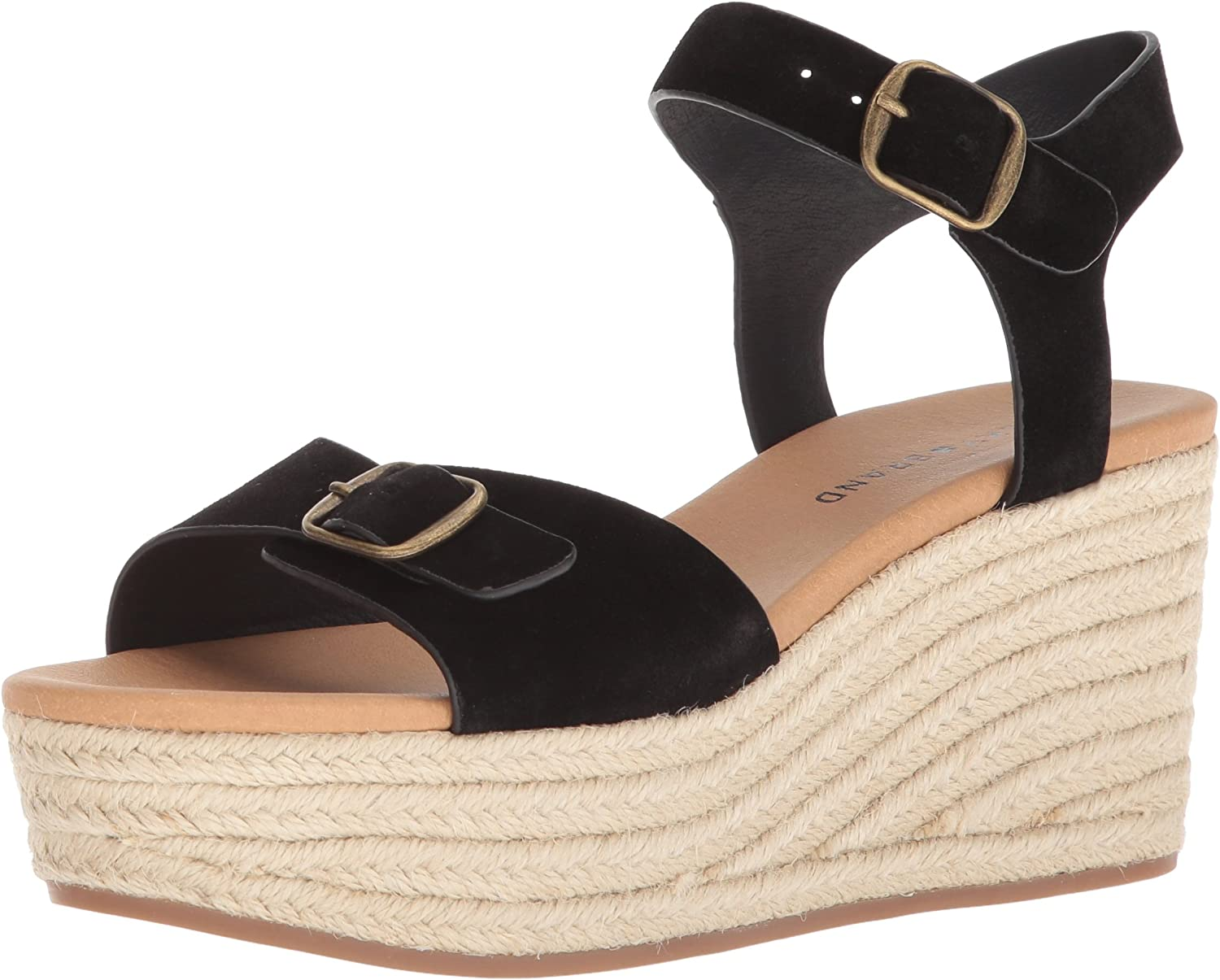 Lucky Brand Womens Naveah Espadrille Wedge Sandal