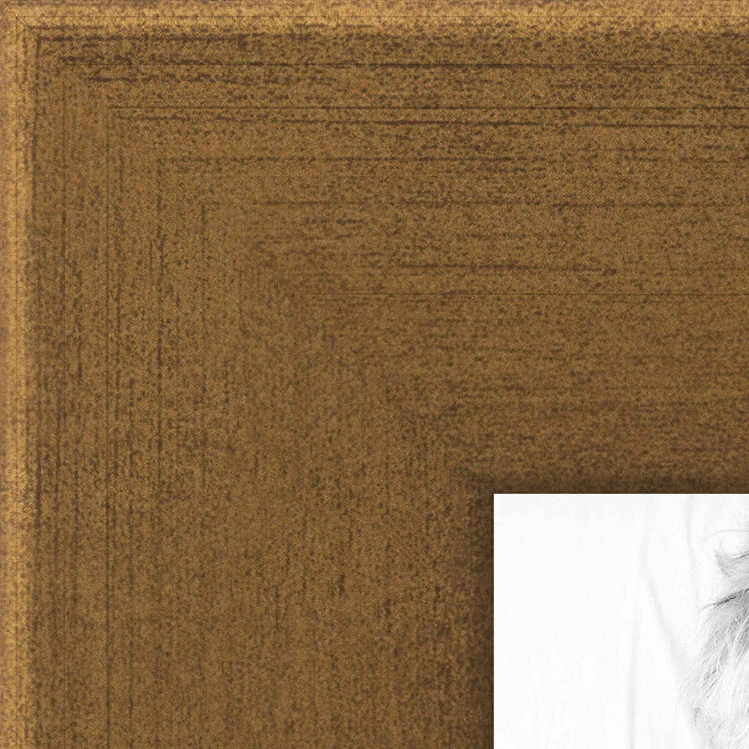 ArtToFrames Max 46% OFF 17x20 Inch Gold Picture Custom 2