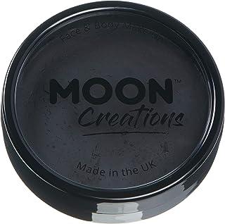 Moon Creations - Profesjonalna farba do twarzy aktywowana wodą - czarna