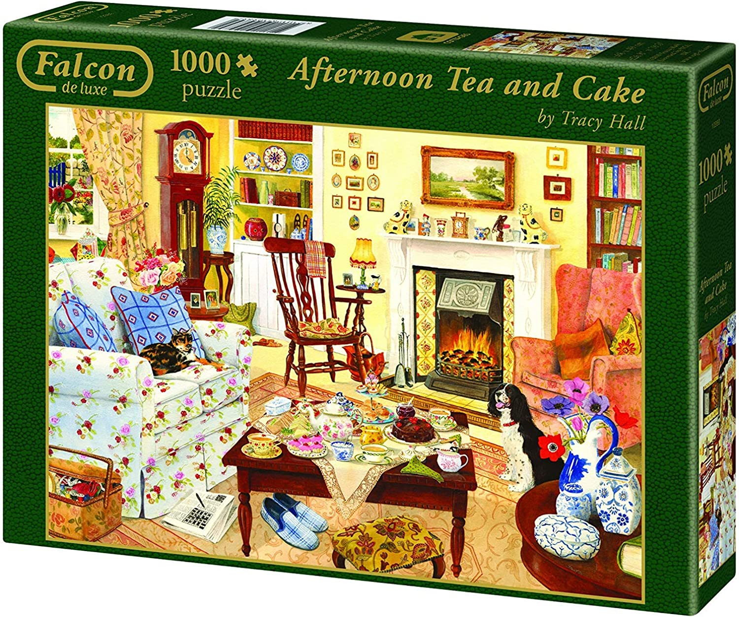 Falcon Puzzle - Afternoon Tea and Cake - 1000 Teile