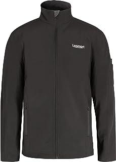 Lesmart Men's Softshell Jacket Outdoors Tactical Combat Outwear Warm Fleece Lining Coat Waterproof Windproof