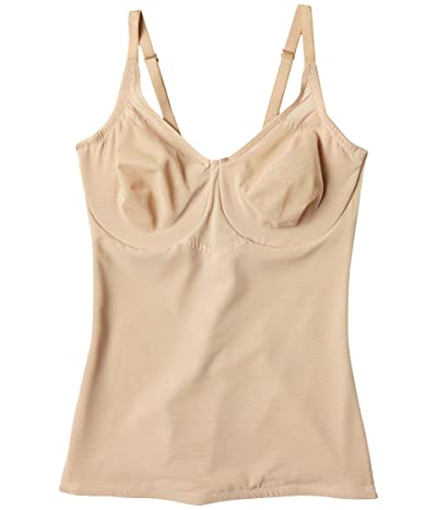 Miraclesuit Shapewear Extra Firm Sexy Sheer Shaping Underwire Camisole (Nude) Women